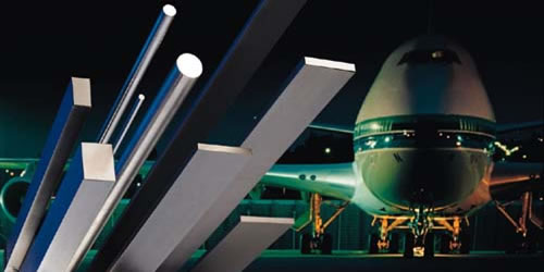 Long products for the aircraft industry