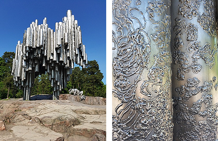 Stainless sculptures and monuments
